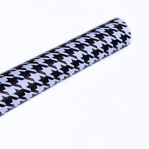 Houndstooth Faux Leather Sheets