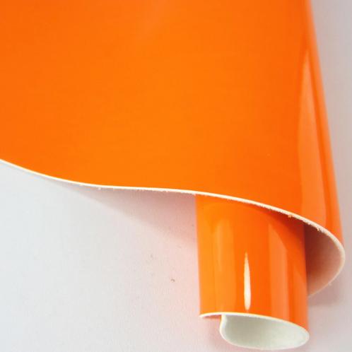 Neon Orange Fabric Sheet