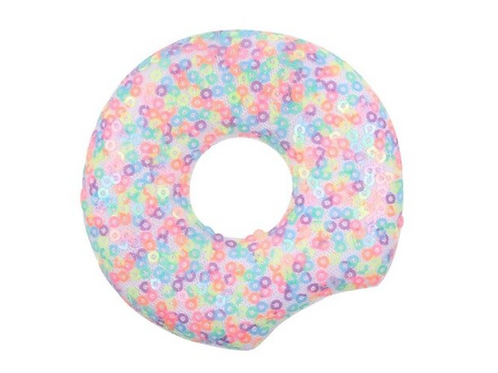 Multi-Colored Sequin Donut Mouse Ears