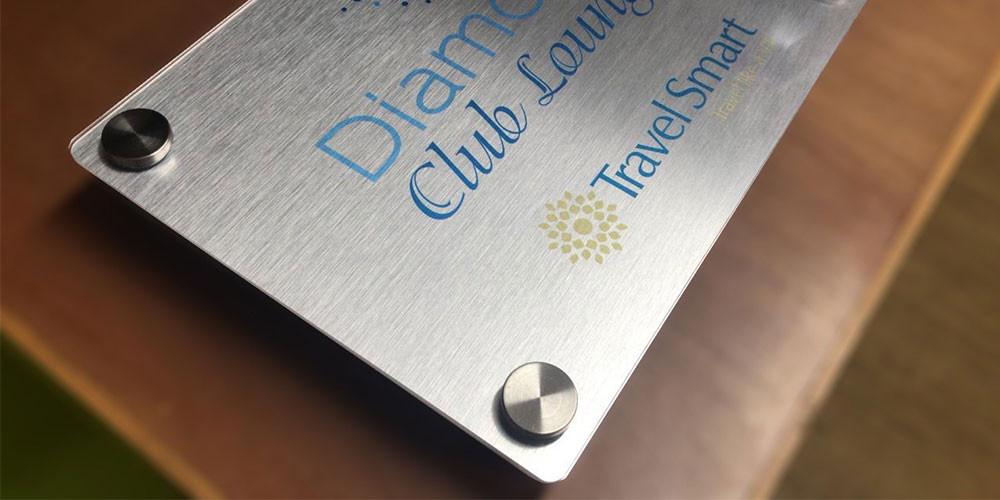 Aluminio Cepillado Impreso