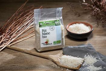 Riz blanc bio de Camargue Vert Coquelicot
