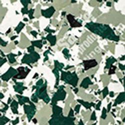 """1"""" inch flake Green"""