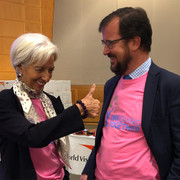 Woman's day at IMF HQ