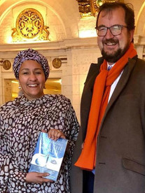 With my friend Amina Mohamed - Deputy SG of the UN