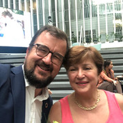 With Kristalina Georgieva about to cross the street to the IMF