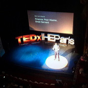 First TEDx in Paris 2017