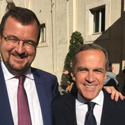Vatican with Mark Carney