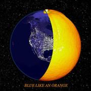 Earth is Blue like an Orange