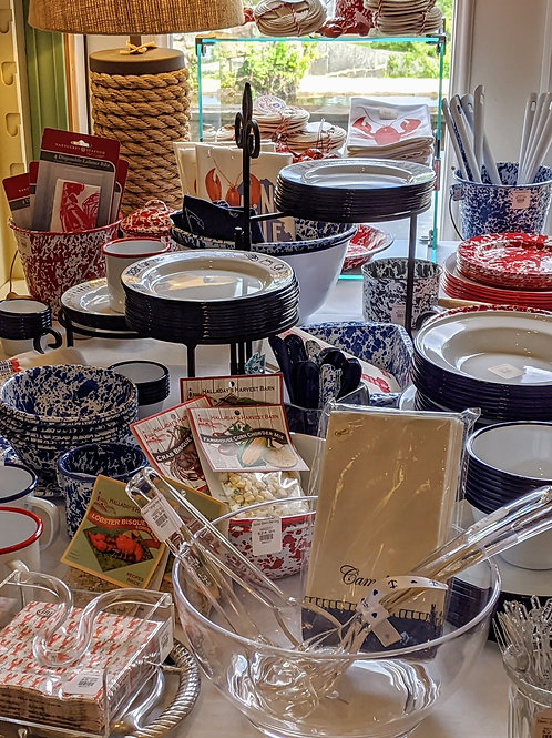 Red, White, Blue Enamelware is here!