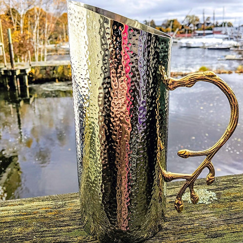 Gorgeous Hammered Pitcher