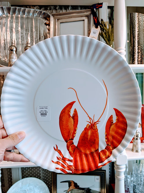 Lobster Plate Melamine! Awesome