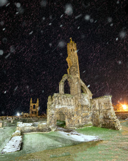Snow at the Cathedral