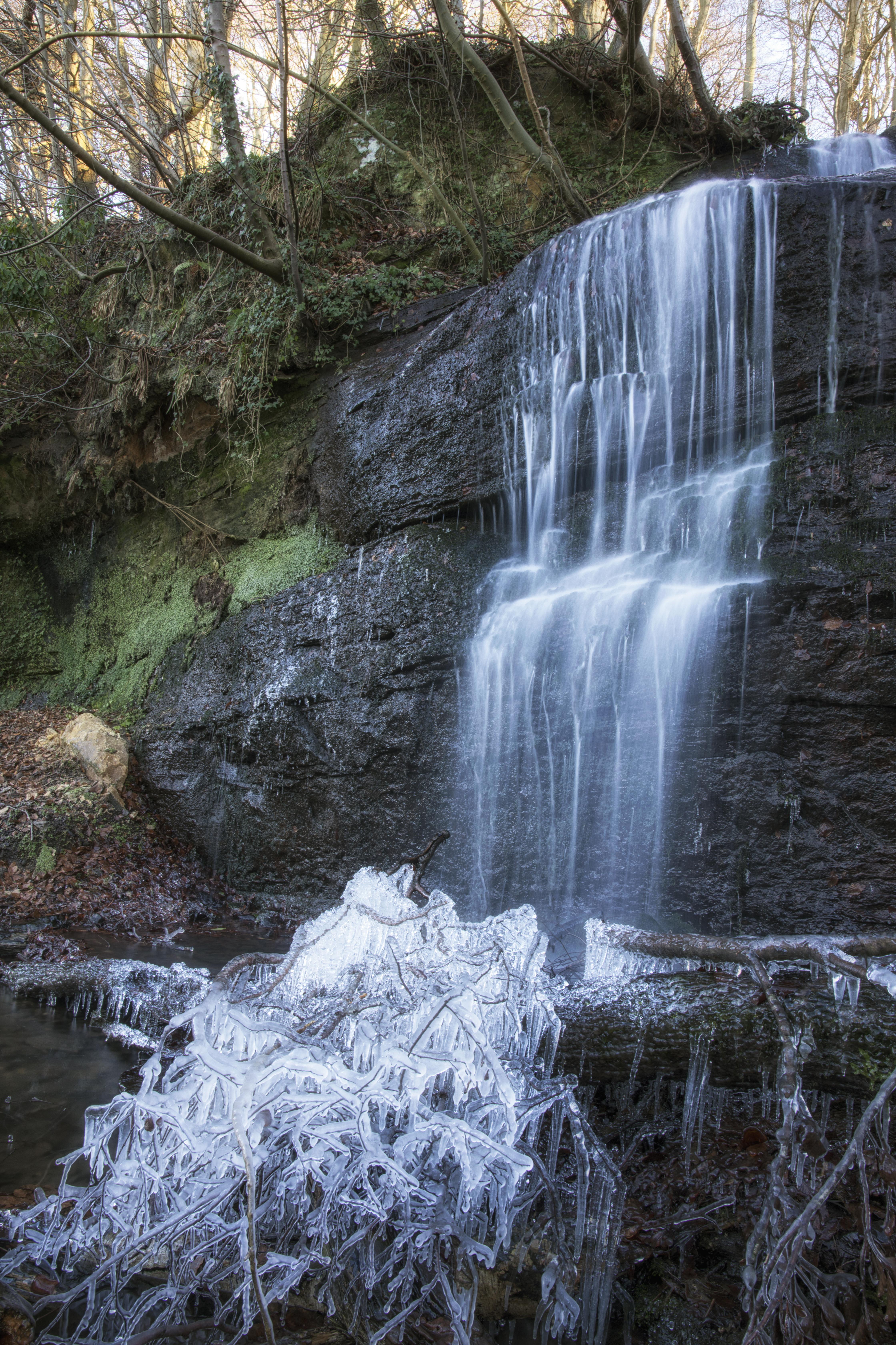 Kemback Waterfall, Winter