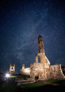 Milky way over the Cathedral