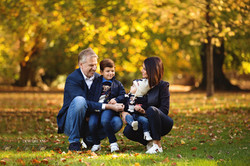 autum family photo session