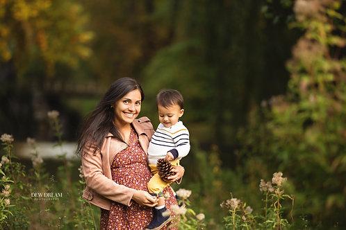 Session famille/enfant plus un cadre de 40*60cm et 10 fichiers en HR