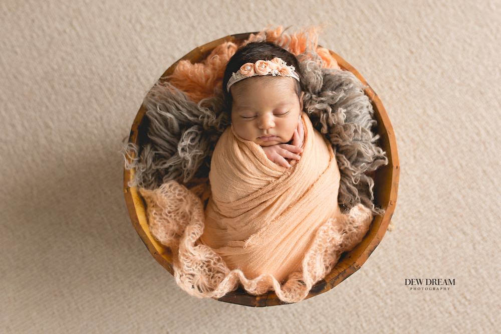 Newborn session at your home