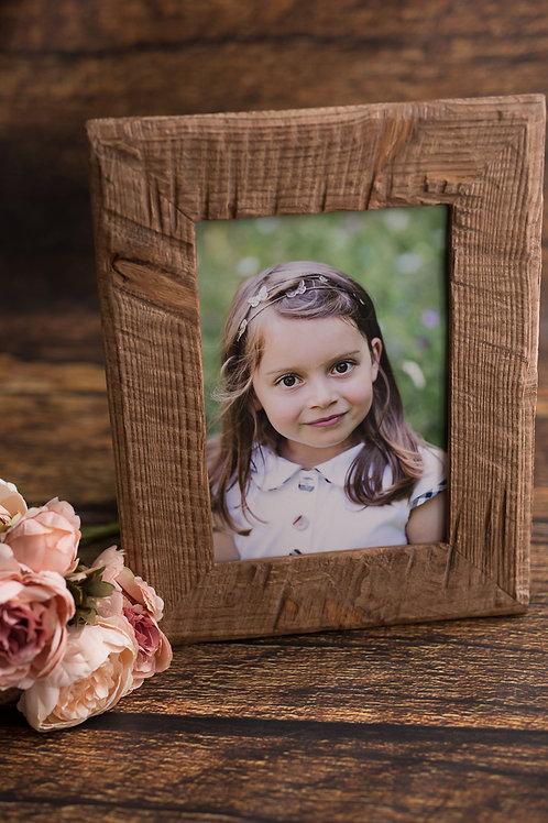 Session enfant/famille au parc, portrait de 20*30cm encadré et 3 photos en HR