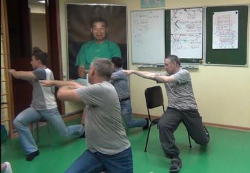 Триначальные комплексы Тайцзы Улыбки на стуле, в групповых занятиях по субботам в 14.00