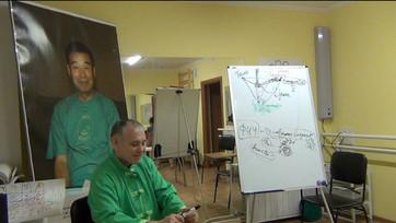 На семинаре-2018, в утренние часы, для участников проводились дополнительные занятия по спиральной г