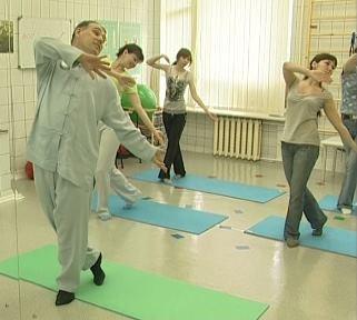 """На Школе здоровья по основам твист терапии: """"Здоровые суставы"""""""