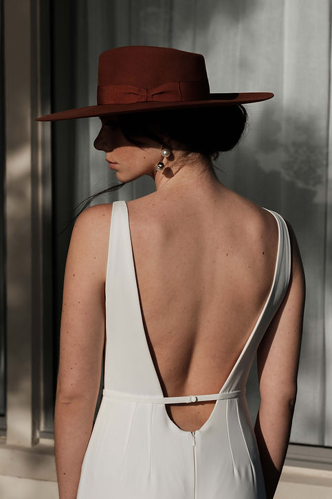 SOA combinaison pantalon mariee pret-a-porter blanc made in france