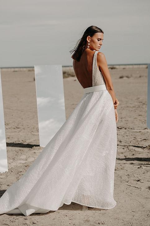 23H00 robe mariee princesse moderne sexy createur marseille