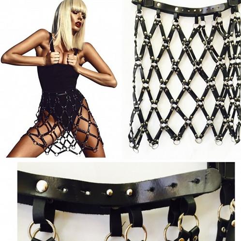 Gaga Caged Skirt