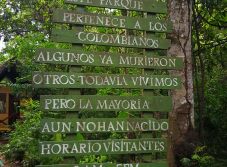 Cuarta parada: Parque Tayrona una escapada para cualquier viaje en la costa.