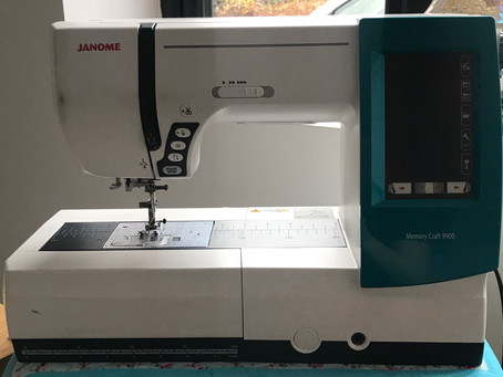 Janome MC9900 - Swap From Sewing To Embroidery