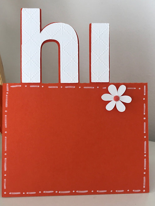 ScanNCut Hi Pop Up Card