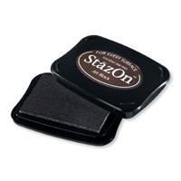 Jet Black Stazon Ink Pad