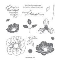 Floral Essence Photopolymer Stamp Set