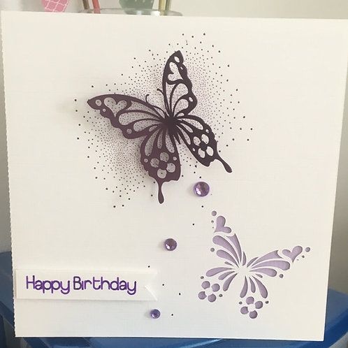 Butterfly Card Cutting File