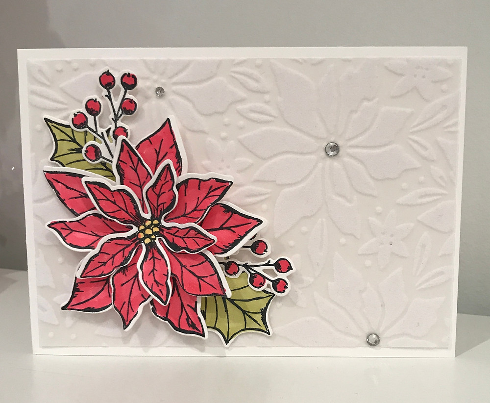 Poinsettia Petals Stamps from Stampin Up