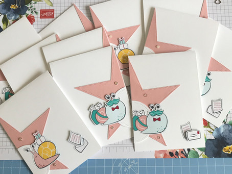 ScanNCut Piercing Tool & Snail Mail Cards
