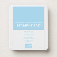 Balmy Blue Classic Stampin' Pad