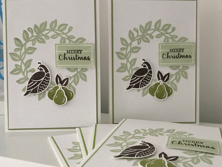 Arrange A Wreath November Customer Thank You Cards
