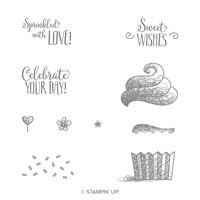 Hello Cupcake Photopolymer Stamp Set