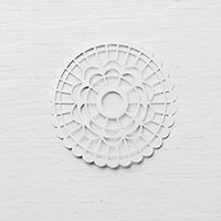 Pearlized Doilies