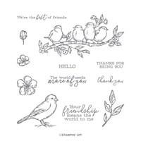 Free As A Bird Cling Stamp Set