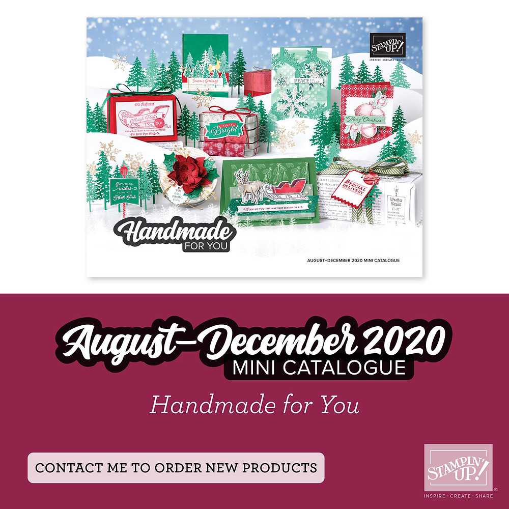 stampin up mini catalogue