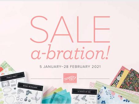 Stampin Up - Sale A Bration & New Mini Catalogue