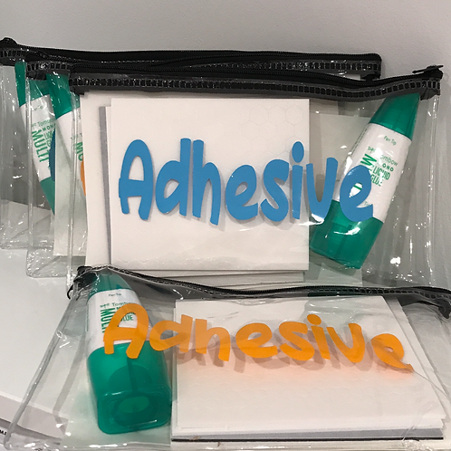 Adhesive Sampler Pack (UK Customers only)