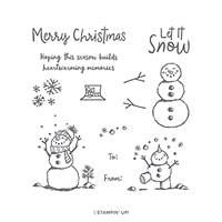 Snowman Season Photopolymer Stamp Set (En)