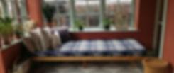 Daybed, snedker københavn, daybed med udtræk, daybed med ryglæn