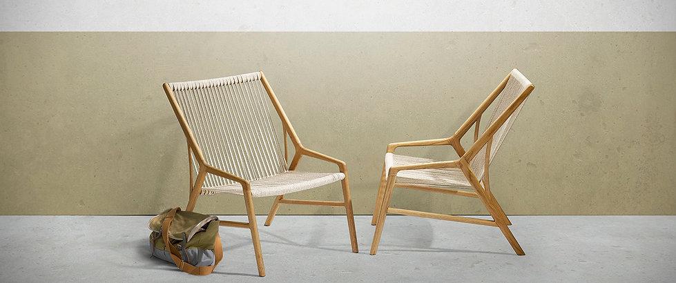FM201 fletstol, hvilestol, lænestol, flagline, snedker københavn
