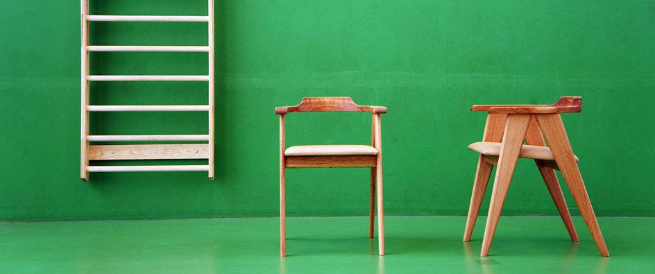 Stol, armstol, kopstol, stol i eg, rugskind, galleristol, galleri, snedker københavn