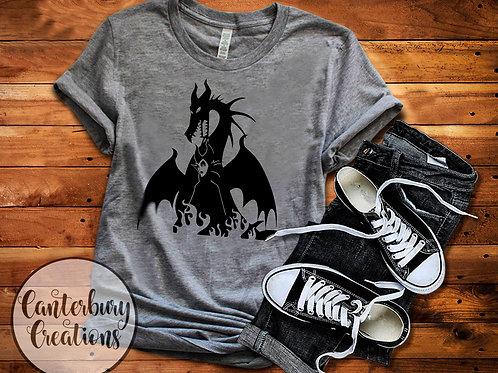 Maleficent Dragon Adult T-Shirt