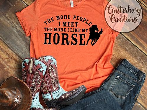 I like my Horse Shirt